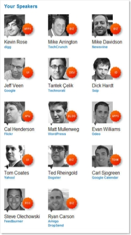 The Future of Web Apps Speaker Roster