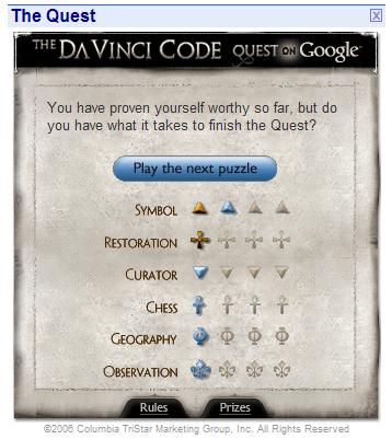 DaVinci Quest on Google